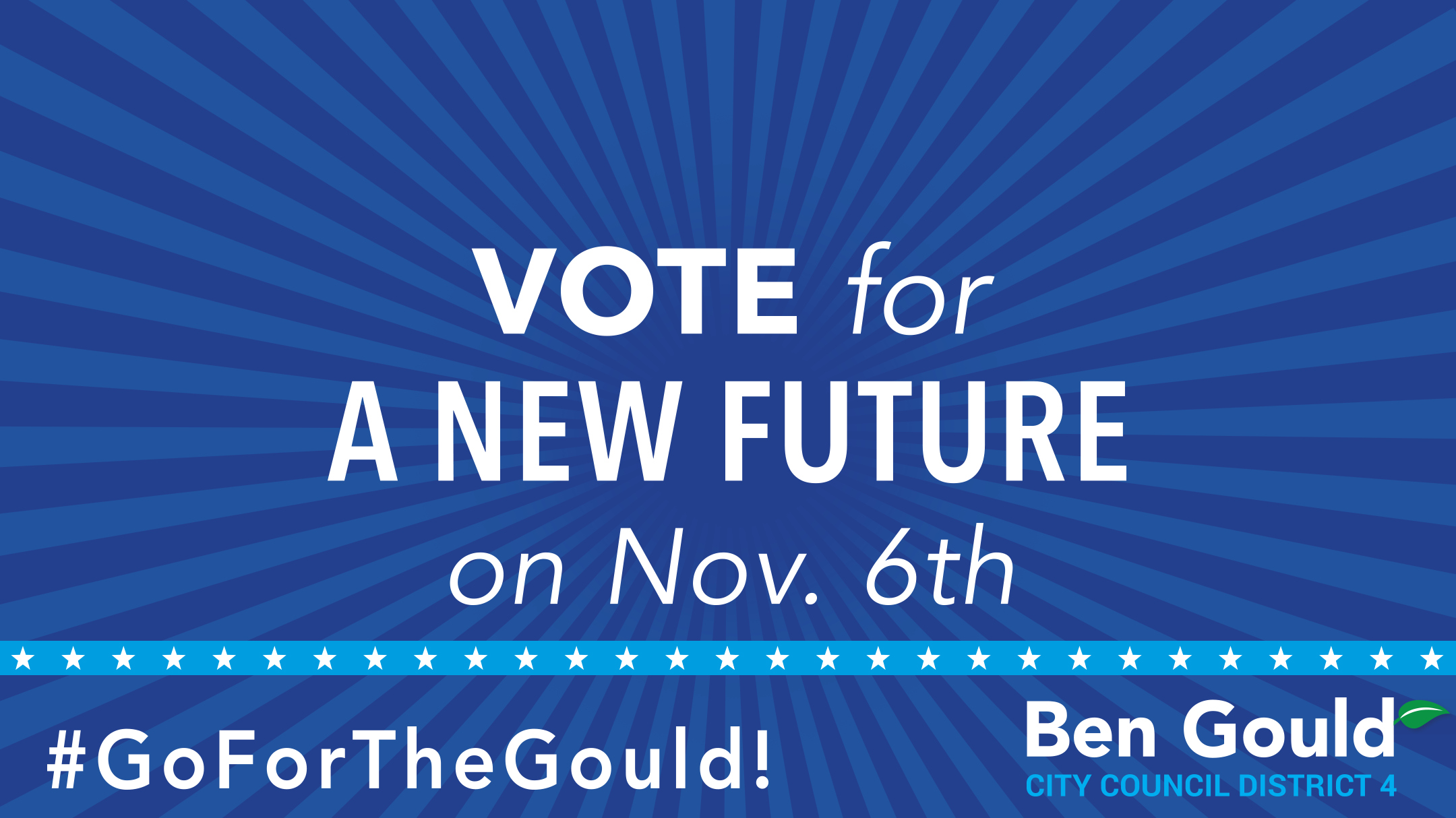 VOTE for A NEW FUTURE on Nov 6th